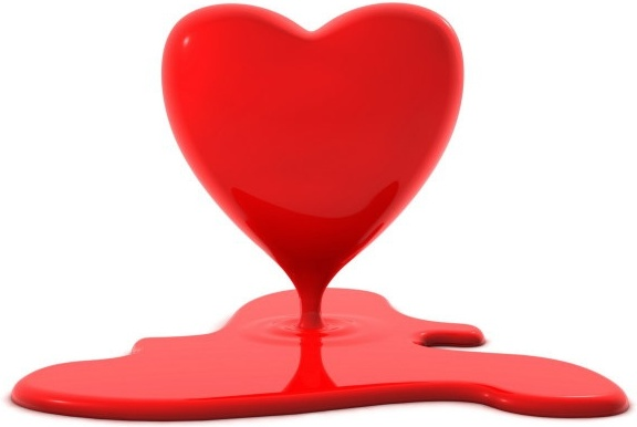 3d heartshaped series of highdefinition picture heartshaped liquid