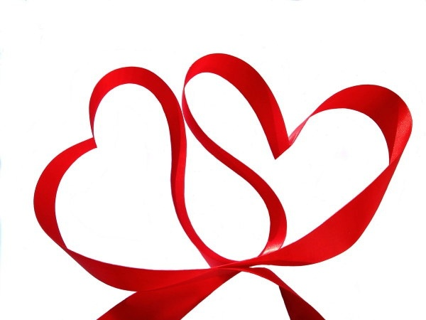 3d heartshaped series of highdefinition picture heartshaped ribbon