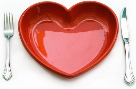 3d heartshaped series of highdefinition picture heartshaped tableware