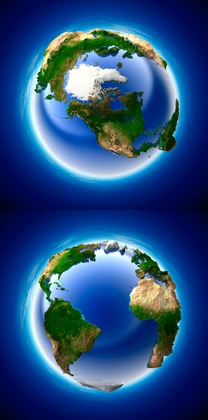 3d multiangle earth hd picture 2