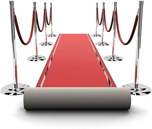 3d red carpet picture