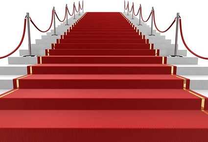 3d red carpet staircase picture 2