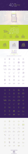40 free ecommerce ai eps pdf vector icons