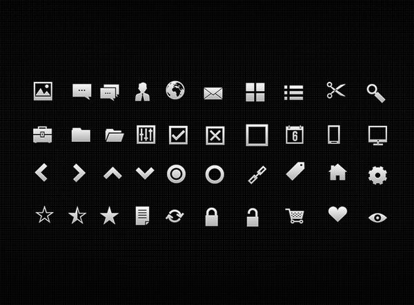 40 UI Icons