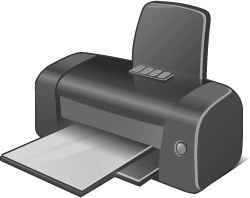4 Disabled Printer