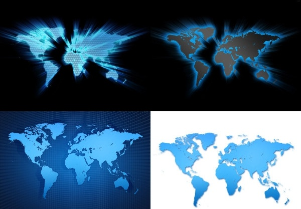 4 world map background definition picture