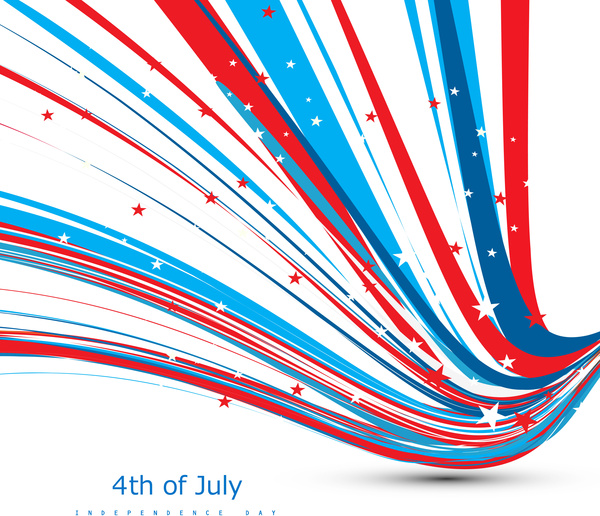 4th of july american independence day flag creative wire celebration ...