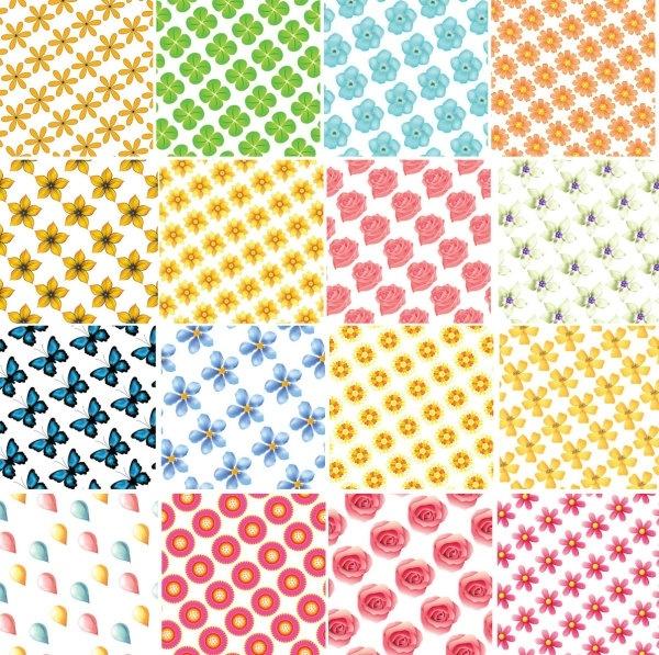 54 kinds of vector tile background 3