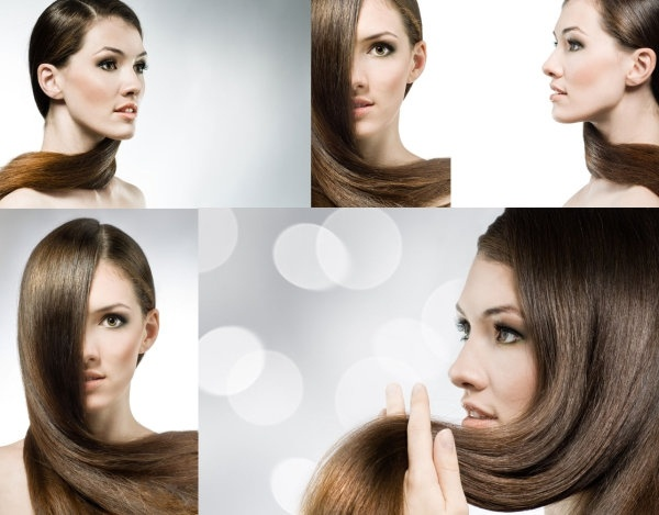 5 fluttering hair female hd picture
