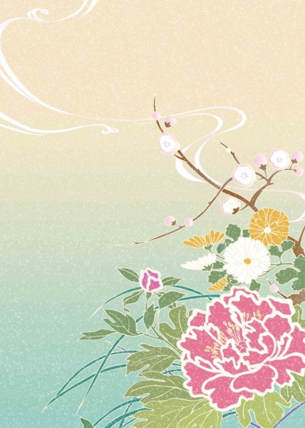 63 hd picture of the japanese style color background