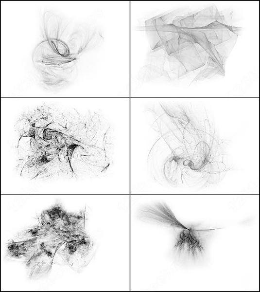 6 fractal brush