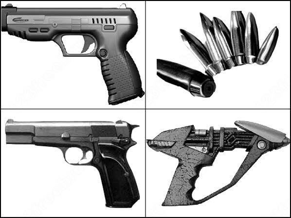 7 gun brush