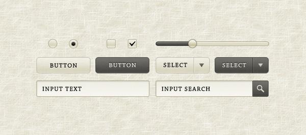 """""""Sepia"""" GUI Elements"""