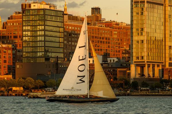 a new york golden hour trip