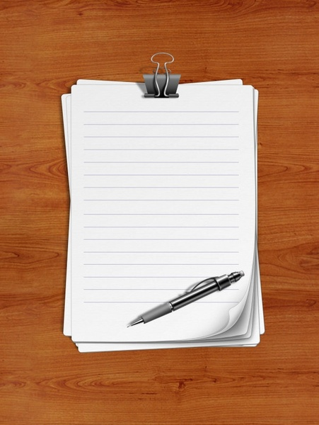 a notebook psd