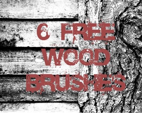 a set of 6 Hi-Res wood brushes