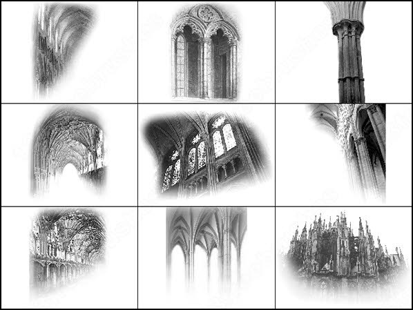 a styleâofâarchitecture gothic brush