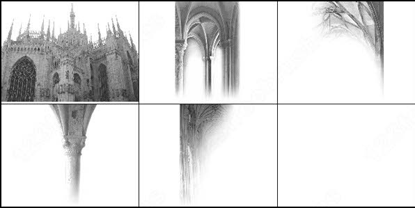 a style�of�architecture gothic brush