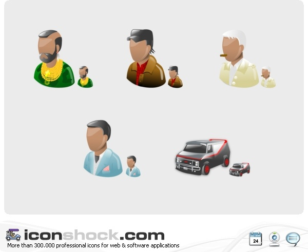 A Team Vista Icons icons pack