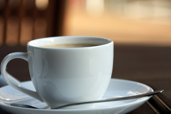 a time for a cup of coffee