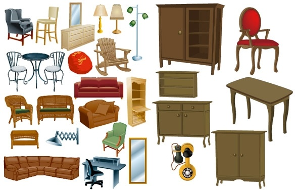 Bedroom Design Clipart
