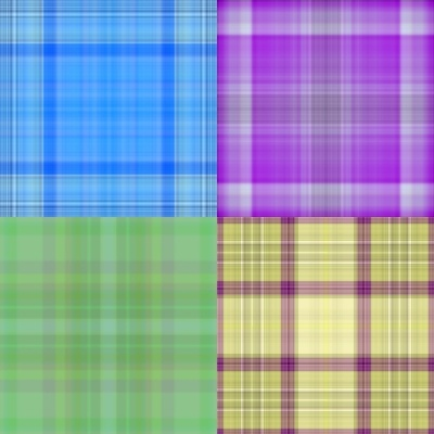 a variety of plaid cloth pattern