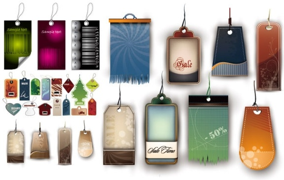 a variety of tag vector