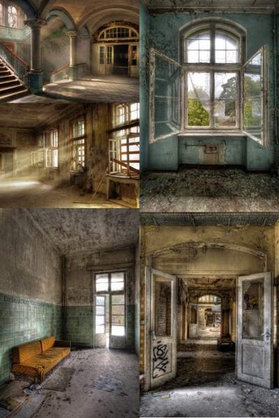 abandoned and dilapidated indoor hd photo 2