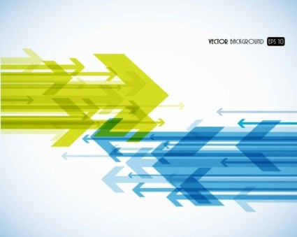 abstract arrow background illustration vector