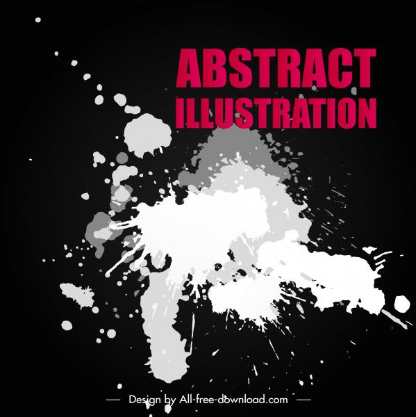 abstract background black white grunge decor