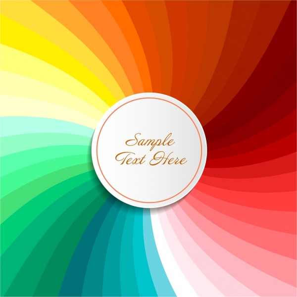 abstract background colorful twist decoration