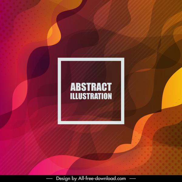 abstract background dark blurred deformed curves decor