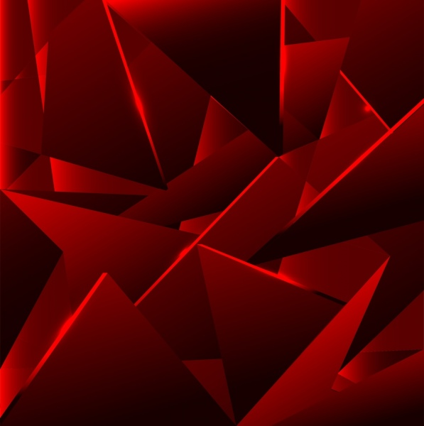 Abstract Background Dark Red Geometric Decor