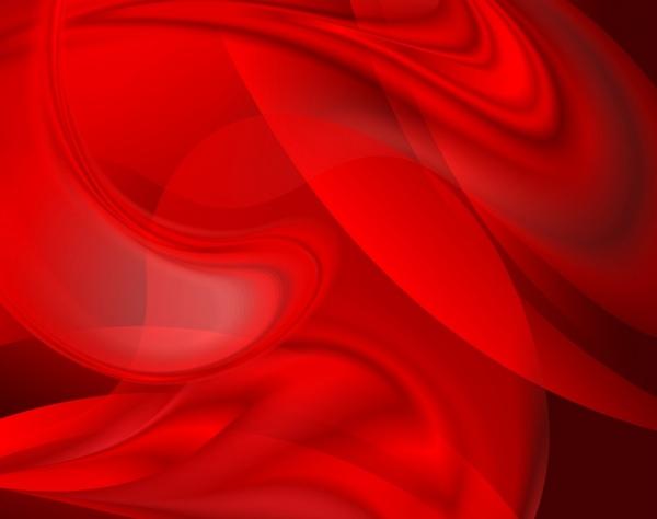 Abstract Background Dark Red Swirled Design