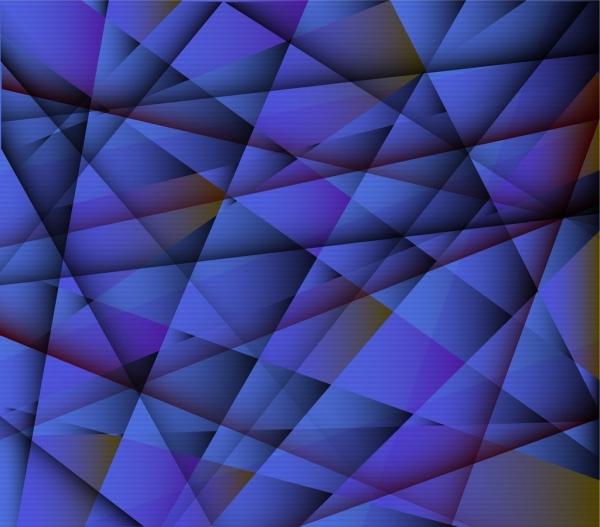 abstract background geometry decor dark blue design
