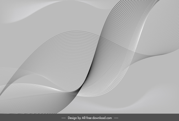 abstract background grey dynamic lines 3d