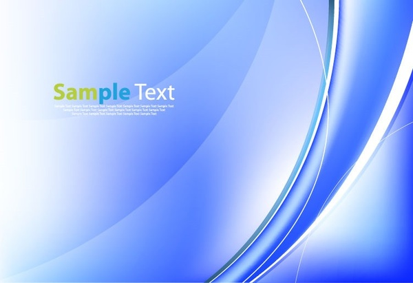 abstract background in blue color vector graphic