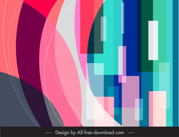 abstract background modern colorful illusion design