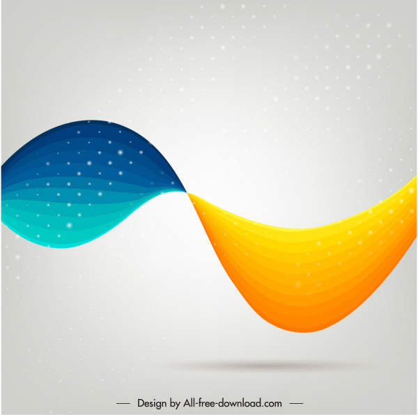 Abstract Background Modern Dynamic Colorful Deformed Curves