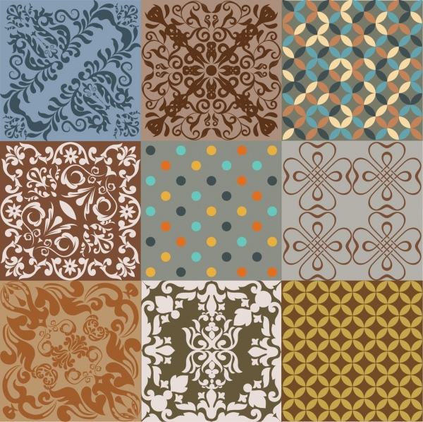 abstract background sets classical symmetric decor