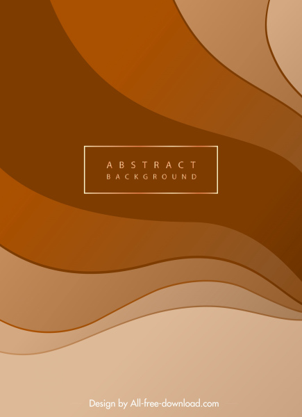abstract background template modern bright curves decor