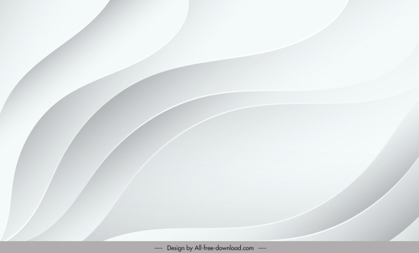 abstract background template modern bright white swirled decor