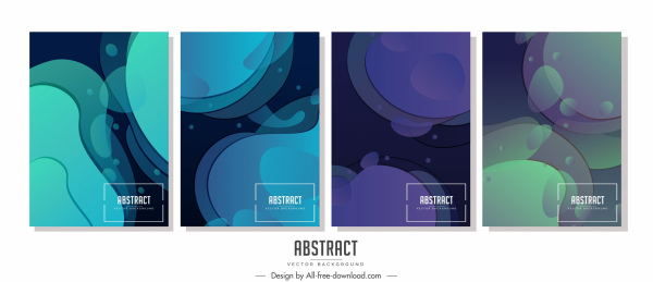 abstract background templates modern colored design deformation decor