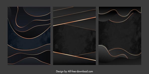 abstract background templates modern dark decor