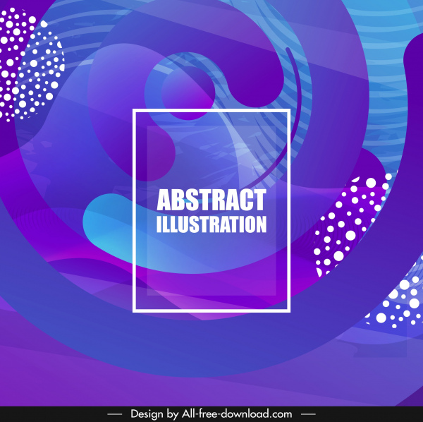 abstract background violet curves motion decor