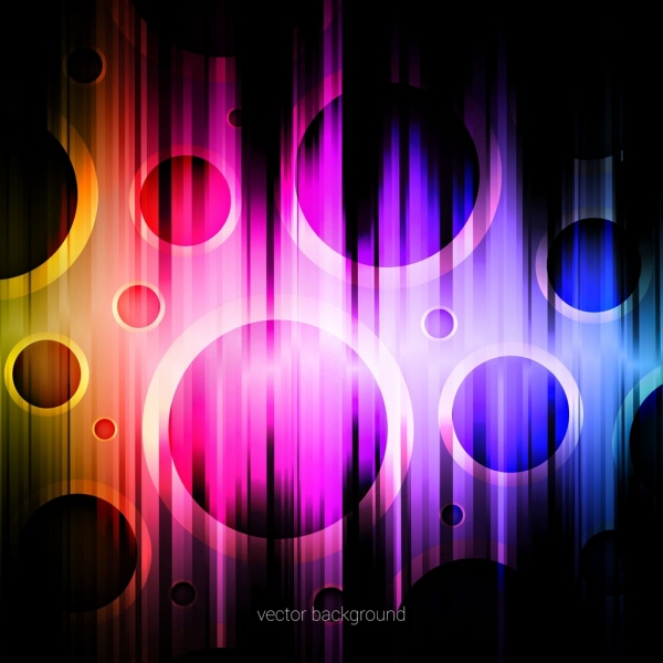 abstract background violet light effect round decoration