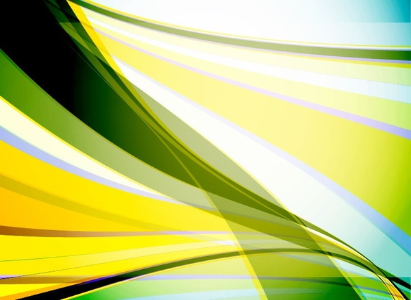 abstract background waves vector art