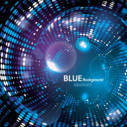 abstract blue light vector background art