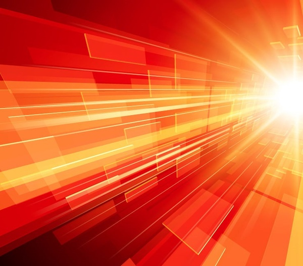 abstract bright rays background vector illustration