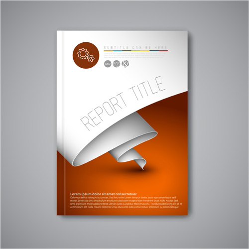 free adobe illustrator cover page template free vector download